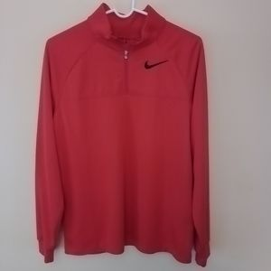 Nike Golf boy's XL red 1/4-zip pullover